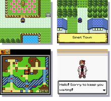 Screenshots - GSC Style Pokemon Game by Gexeys