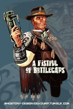 Fistful of Bottlecaps by WhosTonyRamos-Dsn
