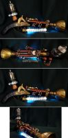 Steampunk Ray Gun by ajldesign