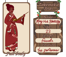 takenaka teas // rose blakesley by nyxai