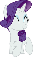 My little pony - Rarity cute vector by arifproject