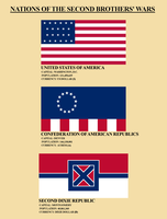 Postbellum America: Flags by Xanthoc