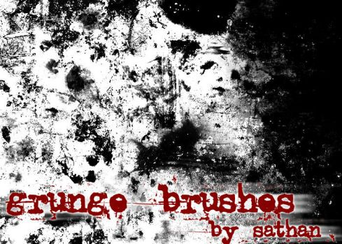 Grunge brushes by stn