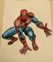 Spiderman  by Caitlinspidey