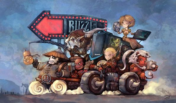 Run to BlizzCon 2013 by liuhao726