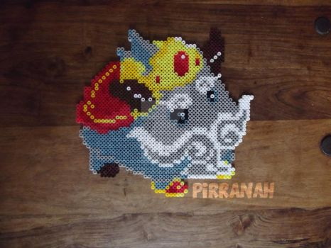 King Poro League of Legends by Pirranah-HyddenSky