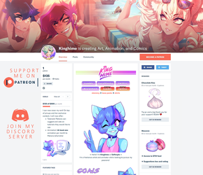 Now on PATREON by King-Hime