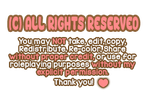 All Rights Reserved Sign - F2U by Pastel-Playhouse