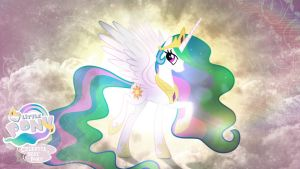 Princess Celestia is Best Pony HD Wallpaper by Jackardy