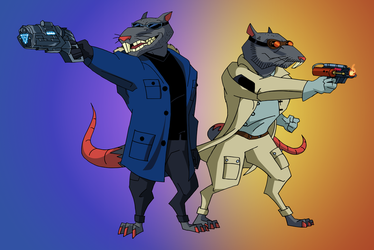 Rats of Tomorrow | COMMISSION by JTSEntertainment