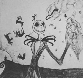 Jack Skellington  by CamArtGallery
