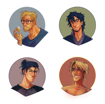 COMM: Percy Jackson and CO. by CassDoubleME