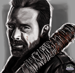Aaska-illustration-negan-twd by AASKA-CREA