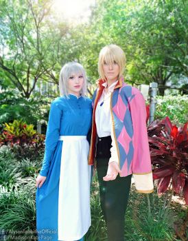Howl's Moving Castle Cosplay by AlysonTabbitha