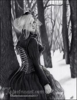 Lady Of Winter by Katerina-Art