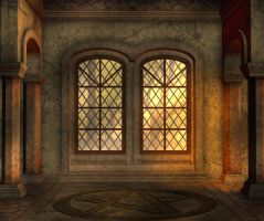 Chapel Background by Lil-Mz