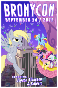 Official Bronycon Poster by Timon1771