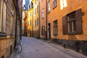 Small alleys #10. Stockholm by russiansphinx