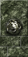 Green Stone with Lion Remake by Hoover1979