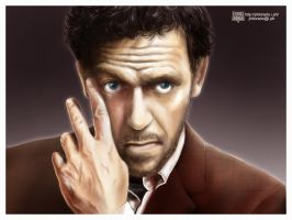 Dr. Gregory House by jrldorado