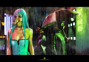 Postnuclear Glamour by Elisanth