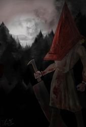 The Darkness is Coming - Silent Hill by Amanda-Lara1996