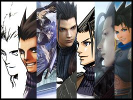 Compilation of Zack Fair by Naru-Nisa