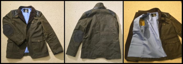 Waxed jacket lining by TimeyWimey-007