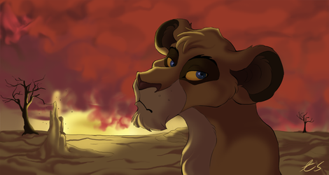 Against a Blood Red Sky by Bumme4