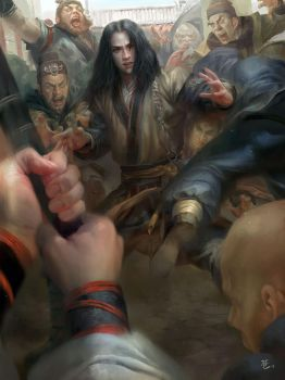 Kung fu Qiao Feng by MichaelCTY