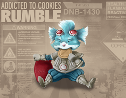 Rumble cookie eater by hotbento