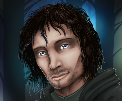 Aragorn, heir to the line of Isildur by Maximum993