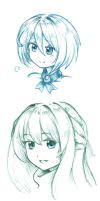 [HDN] Neptober sketches by Men-dont-scream