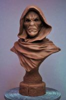 Cursed Majestic Bust sculpt Monster Clay by AntWatkins