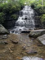 The Beautiful Cherokee National Park: Waterfall by ZackfilmsV2