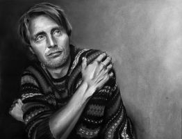 Mads Mikkelsen by meilin-mao