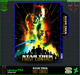 Star Trek First Contact (1996)4 by Loki-Icon