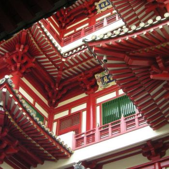 Chinese Temple by Ann0nyme