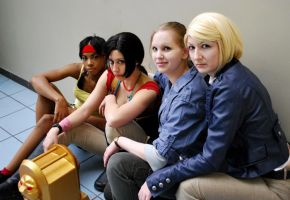 Uncharted Cosplay: Leading Ladies by LadyofRohan87