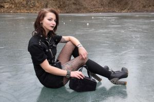 Goth on Ice by tonysphotos