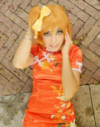 Honoka china cosplay by ClajreFay