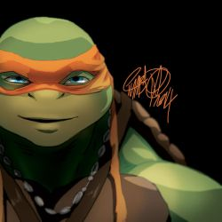 May Mucking about  Michelangelo by theCHAMBA