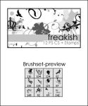 PS Brushes Freakish by shoozie