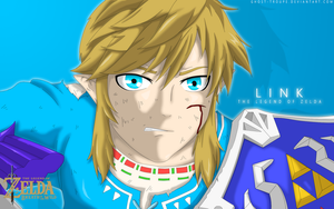 Link (The Legend of Zelda: Breath of the Wild) by Ghost-Troupe
