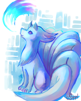 Ninetales by Zeighous