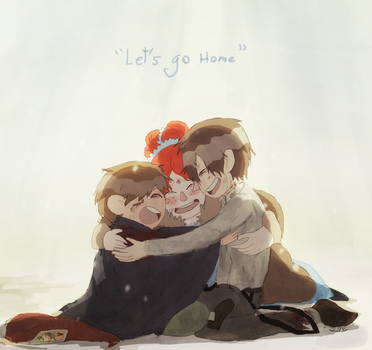 Going home (From Two roads in the woods) by tunaniverse