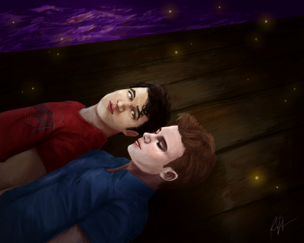 Glee: The Luckiest by artsnletters