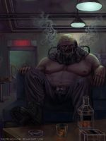 Beval, Gluttony of the Vices by TheObliviousOwl