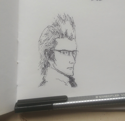 Iggy sketch by Hewison