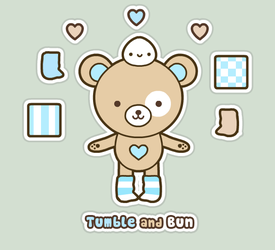 Tumble and Bun Profile by SqueakyToybox